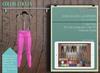 Addams - Women's Mesh Leggings -Maitreya, Belleza, Tmp, Slink.Leggings Shania- Fuccia