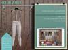 Addams - Women's Mesh Leggings -Maitreya, Belleza, Tmp, Slink.Leggings Shania- White
