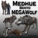 Medhue MEGA Wolf - Bento