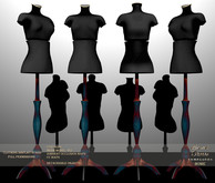 !Lyrical B!zarre Templates! - Clothing Display MESH FP