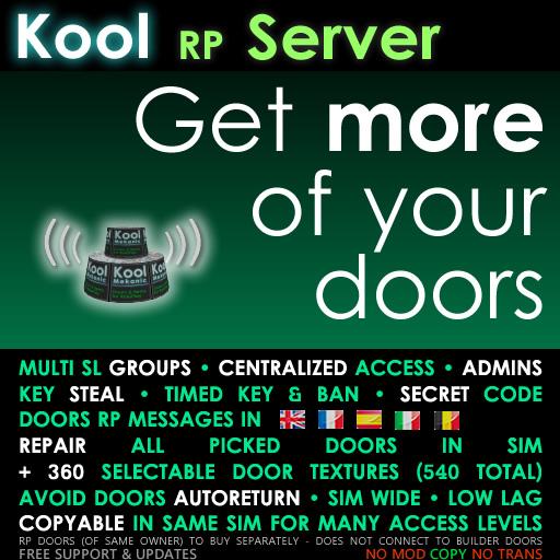 Kool Server - MULTI-GROUPS access for Kool RP door - Roleplay