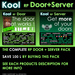Kool Door + Server - Multi-groups access
