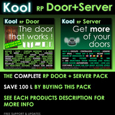 Kool Door + Server v2.23 Delivery