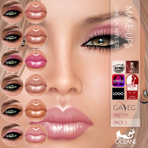 Outlet Oceane - Pretty Make-ups Pack 1 - Omega