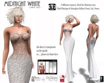MIDNIGHT WHITE lf design