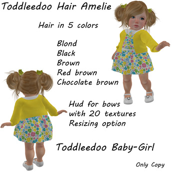 Toddleedoo Hair Amelie