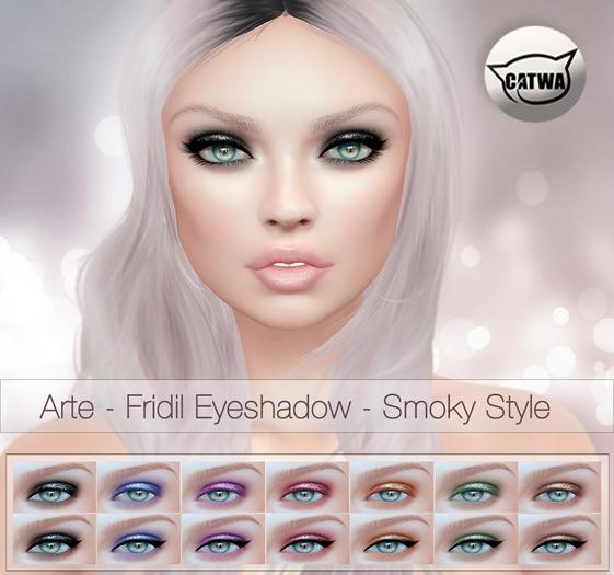 Arte - Fridil Eyeshadow - Smoky Style [Catwa]