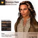 A&A Bronco Hair Brown Colors Pack.  Mid-length rugged mens hairstyle