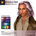 A&A Bronco Hair Rainbow Colors Pack.  Mid-length rugged mens hairstyle