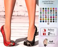 ::KF - Lucy Skull Tip Toes + HUD 50 Models::