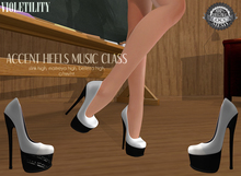 Violetility - Accent Heels [Music Class]