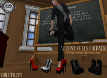 Violetility - Accent Heels [FATPACK]