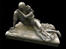 Elven Lovers Statue