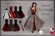 [Dallas MacKenzie] Retro Rockabilly Dress