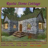 L$10 Rustic Stone Cottage