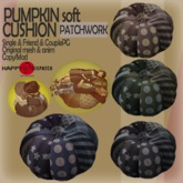 [HD]PUMPKIN soft CUSHION-Patchwork-CouplePG