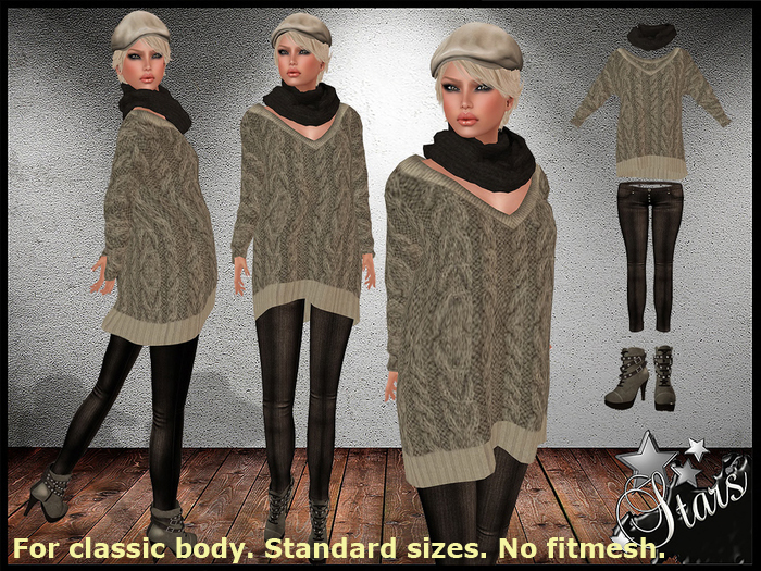 *Stars*Fashion* Classic body - Bheli beautiful outfit!