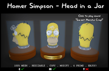 Homer Simpson - Head in a Jar