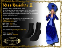 Madeline II in Egyptian Blue - Boxed