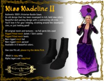 Madeline II in Mauvine - Boxed