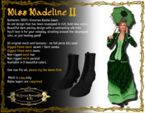 Madeline II in Paris Green - Boxed