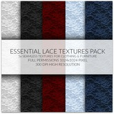 Essential Lace Textures Creators Kit FULL PERM