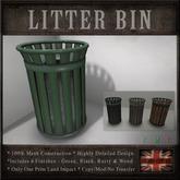 Public Trash Can / Litter Bin