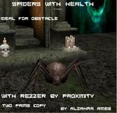 Spiders with Healt