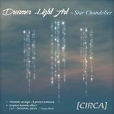 "[CIRCA] - ""Dreamer Light Art"" - Star Chandelier"
