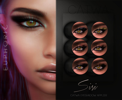 .euphoric ~Sisi Eyeshadow Applier Set~[Catwa]