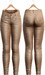 Blueberry - Tali Leather Pants - Maitreya, Belleza (All), Slink Physique Hourglass - ( Mesh ) - Beige