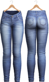 Blueberry - Tali Faded Jeans - Maitreya, Belleza (All), Slink Physique Hourglass - ( Mesh ) - Blue