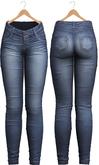 Blueberry - Tali Faded Jeans - Maitreya, Belleza (All), Slink Physique Hourglass - ( Mesh ) - Dark Blue
