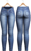Blueberry - Tali Faded Jeans - Maitreya, Belleza (All), Slink Physique Hourglass - ( Mesh ) - Deep Blue