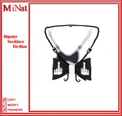 MiNat Hipster Necklace Tie-Bow