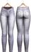 Blueberry - Tali Faded Jeans - Maitreya, Belleza (All), Slink Physique Hourglass - ( Mesh ) - Fade Light