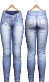 Blueberry - Tali Faded Jeans - Maitreya, Belleza (All), Slink Physique Hourglass - ( Mesh ) - Light Blue