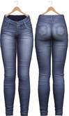 Blueberry - Tali Faded Jeans - Maitreya, Belleza (All), Slink Physique Hourglass - ( Mesh ) - Midnight