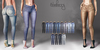 Blueberry - Tali Faded Jeans - Maitreya, Belleza (All), Slink Physique Hourglass - ( Mesh ) - Fat Pack