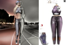 LFE :: ELLE Sport outfit purple