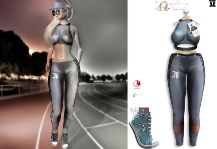 LFE :: ELLE Sport outfit blue