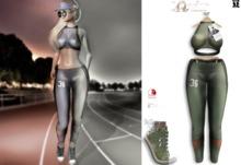 LFE :: ELLE Sport outfit green