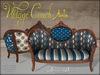 Boudoir Vintage Couch Auntie