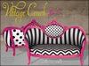 Boudoir Vintage Couch Burton