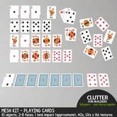 Clutter - Mesh Kit - Playing Cards