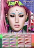 .{PSYCHO:Byts}. Mitsuko-Glitter Eyebrows Pack