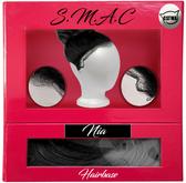 S.M.A.C Nia Hairbase (Black/White)(Catwa Applier)