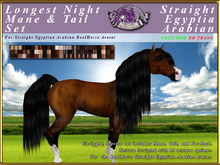 *E* RealHorse Longest Night Hair Set [BOXED] RH  SEArabian