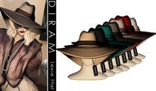 - D I R A M -  LEXIE Hat - FatPack