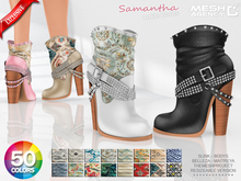 ::MA:: SAMANTHA Ankle Booties - 50 COLORS PACK
